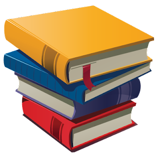 Drawing of Book stack illustrator for download.