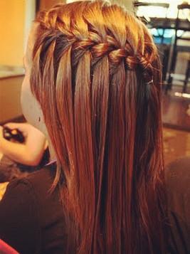 Rambut gaya braid hair styles atau rambut kepang