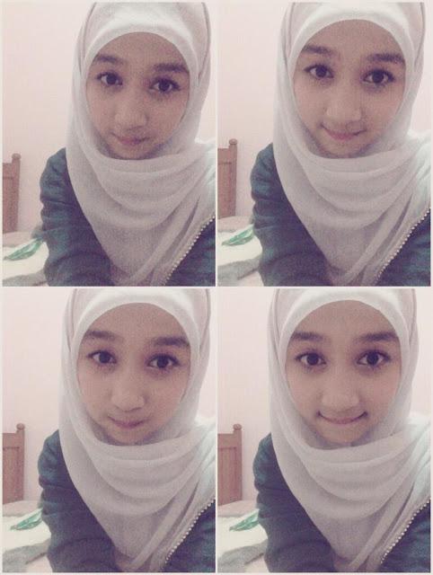 Foto Ayana JKT48 Berjilbab imut-imut