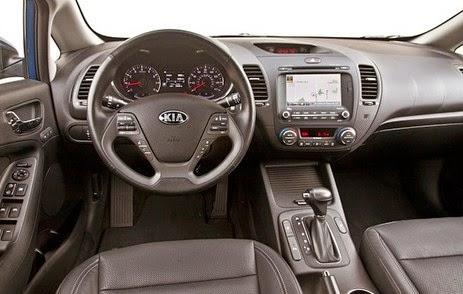 2016 Kia Forte interior