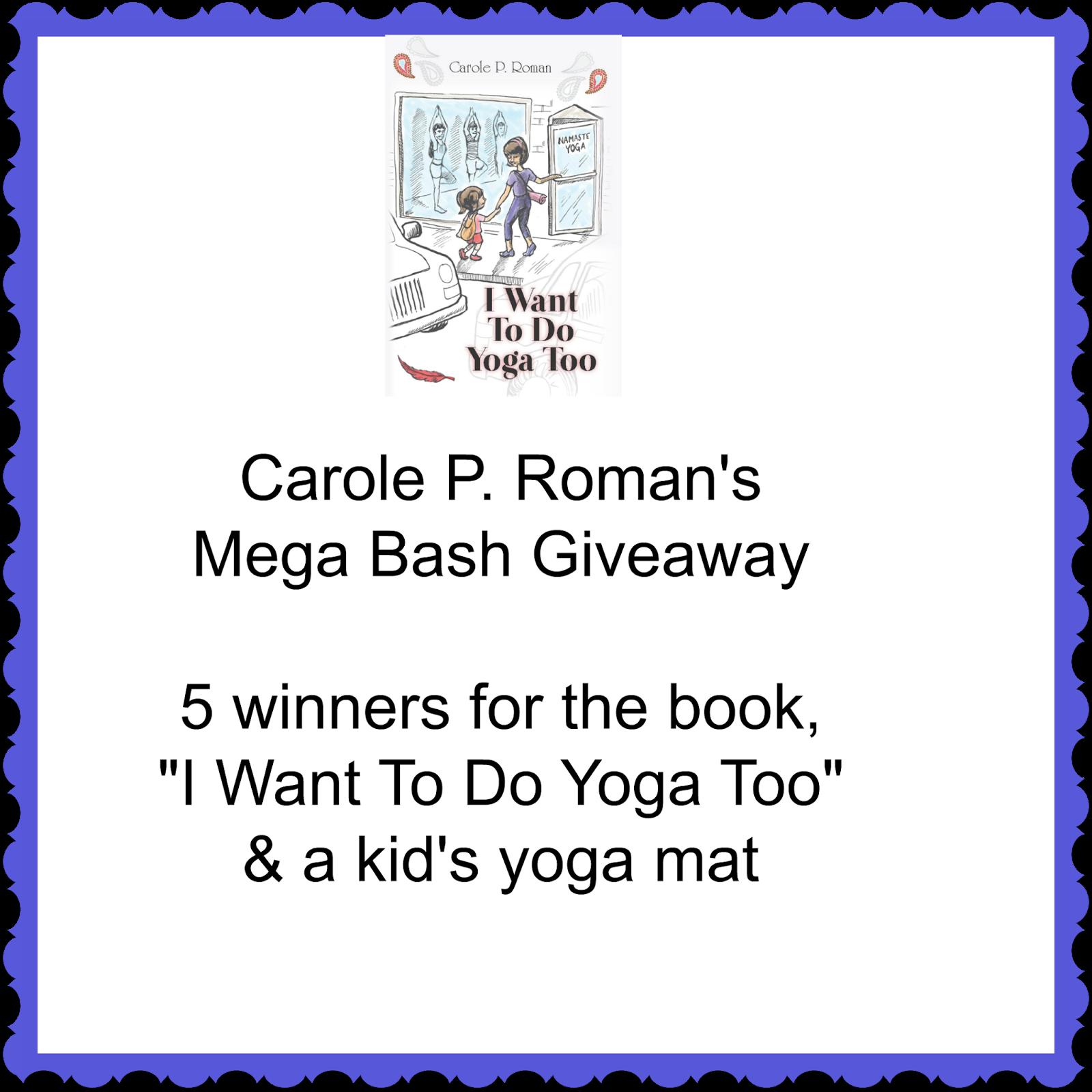 Reading Authors: #Giveaway: Carole P. Roman's Mega Bash #3