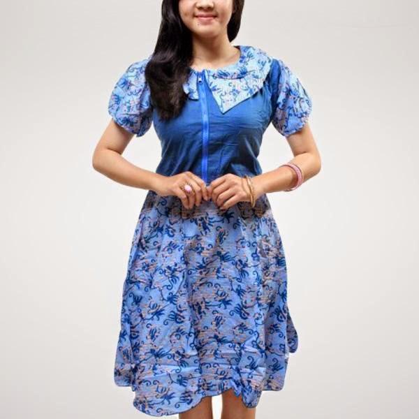 model-dress-batik-modern-2