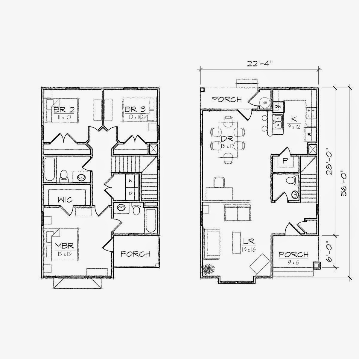 1000 sq ft loft lake house plans joy studio design for Small house floor plans with loft