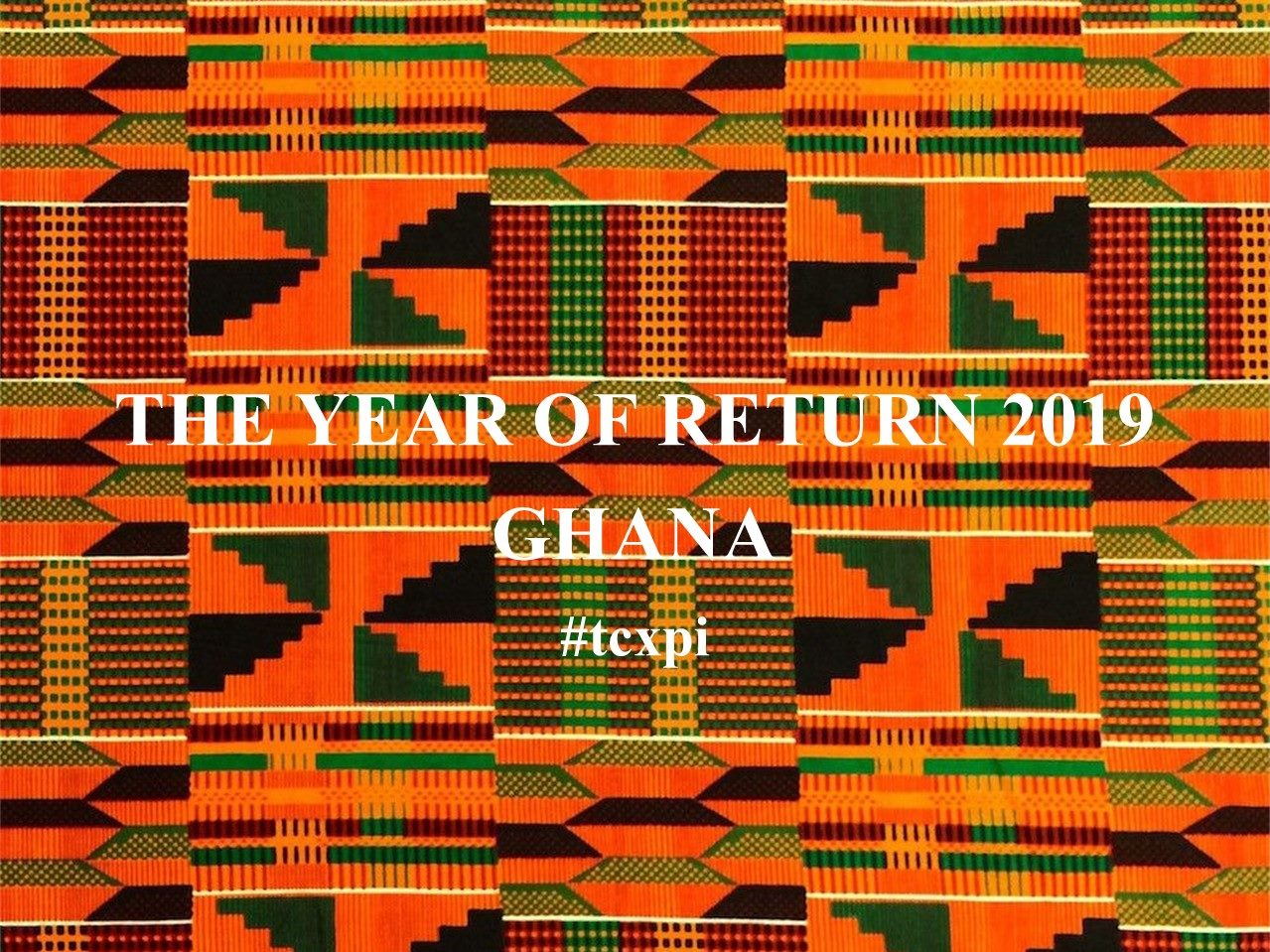 The Year Of Return 2019