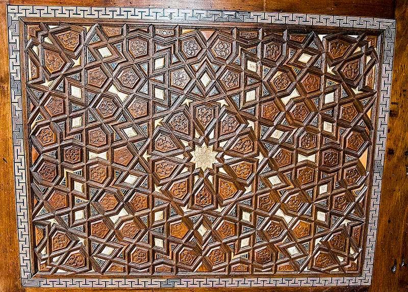 Süleymaniye Mosque Inlaid Doors