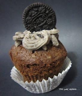 Πανεύκολα cupcakes με μπισκότα oreo – Βασική συνταγή για cupcakes με κακάο