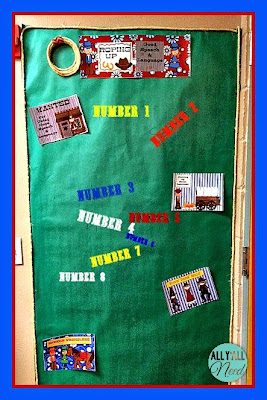 Wild West Bulletin Board Set for SLPs by All Y'all Need