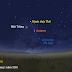 Mặt Trăng, hành tinh Thổ và sao Antares trên bầu trời sáng sớm 17/1