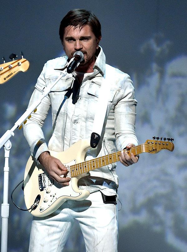 El cantante Juanes.