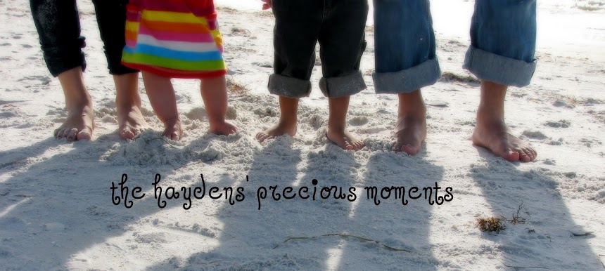 the haydens' precious moments