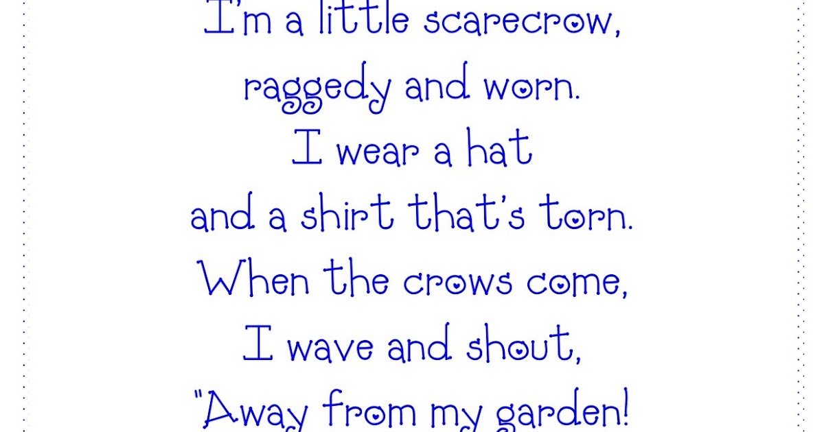 1000  images about Scarecrows on Pinterest | Poem, Old ladies and ...