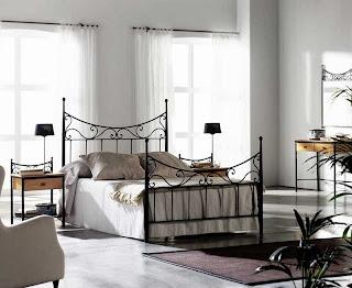 Cama forja, dormitorio forja, camas forja grandes