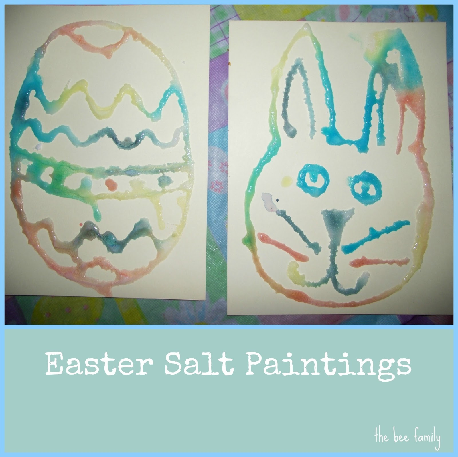 Easter Is Getting Closer And We Havent Done Much In The Way Of Crafts So Far Fact To My Husbands Annoyance Until Today
