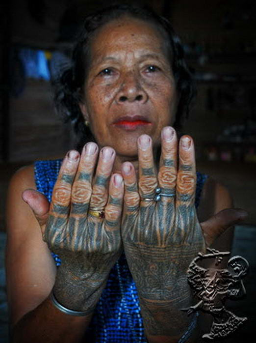 Tattoo of an Iban (From Borneo)