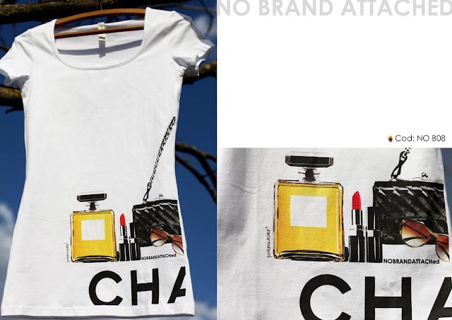 t-shirts,magliette,moda,fashion,magliette con marchio,chanel trucchi