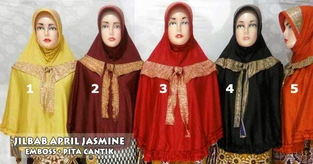 Jilbab April Jasmine Terbaru Cantik Modis Dan Murah
