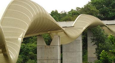 Henderson Waves (Jembatan Pejalan Kaki Terindah) Singapura