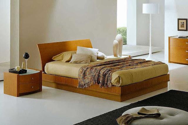 Gambar Kamar Tidur Sederhana Minimalist dan Rapi