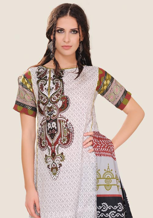 Al Karam Eid Collection in Block Print