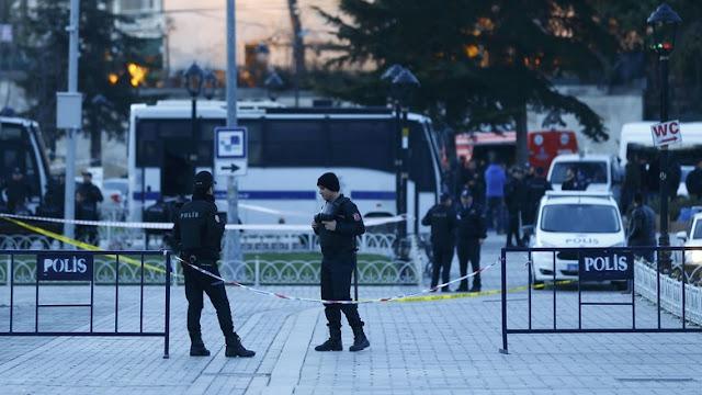 Istambul Turki di guncang BOM