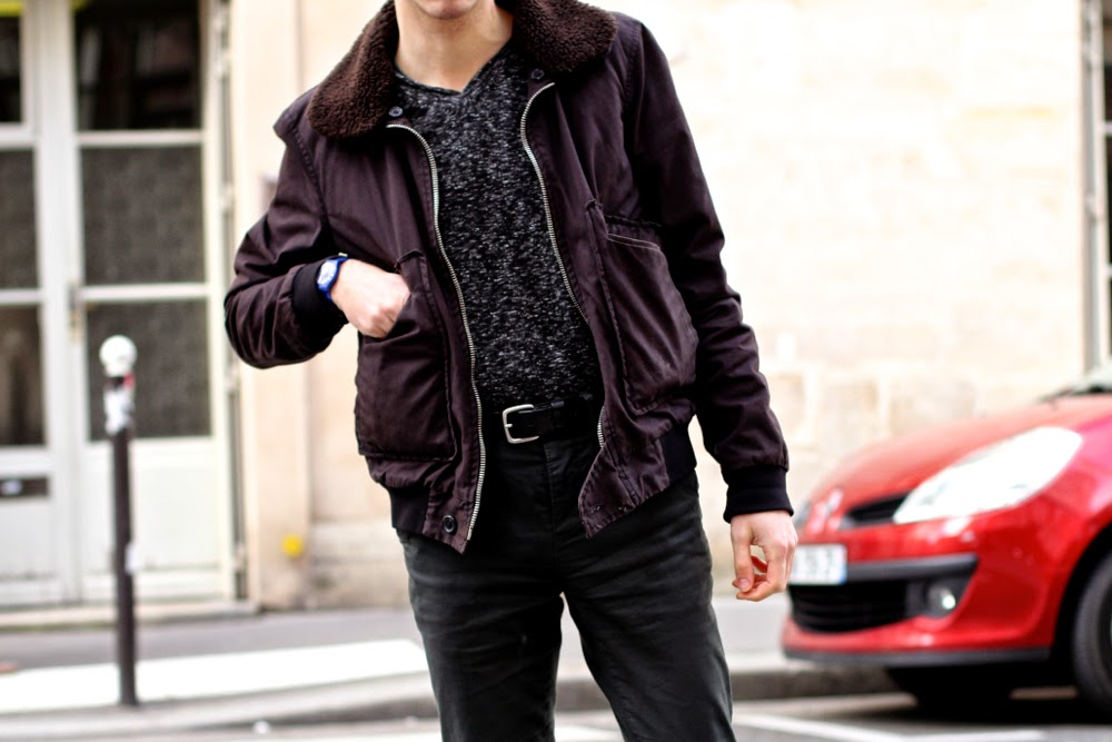 BLOG-MODE-HOMME_Preppy-Style_Mensfashion_UGG-APRIL77_ASOS_AMERICAN_Vintage_Bomber-Swatch