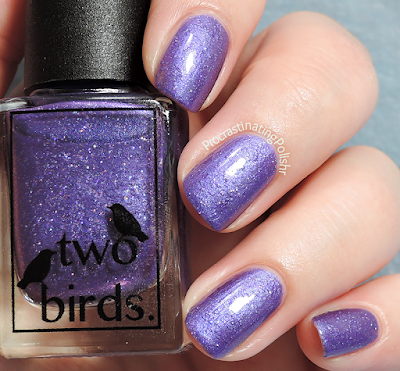 Two Birds Lacquer - Modestly Mauve