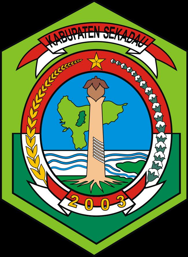 logo kabupaten sekadau kumpulan logo indonesia