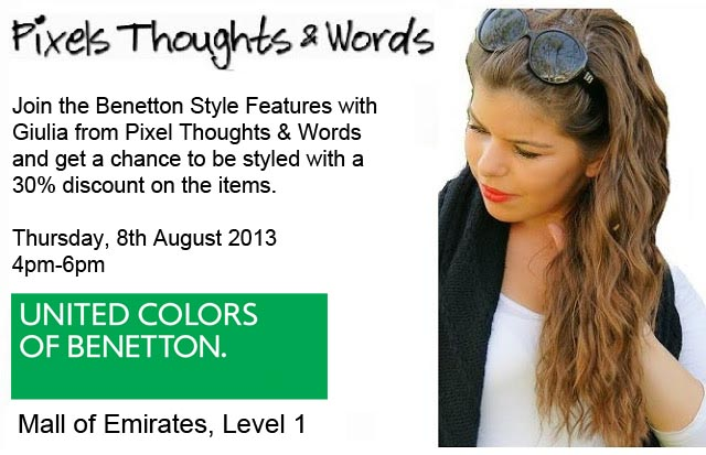 Benetton Style Feature With PixelsThoughts&Words