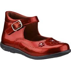 Botin rojo material piel modelo 4917
