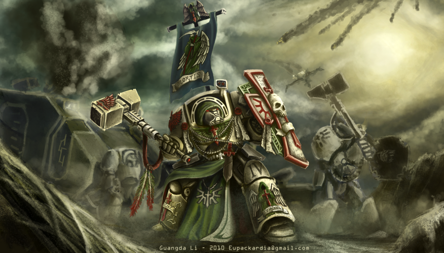 deathwing 40k art - photo #3