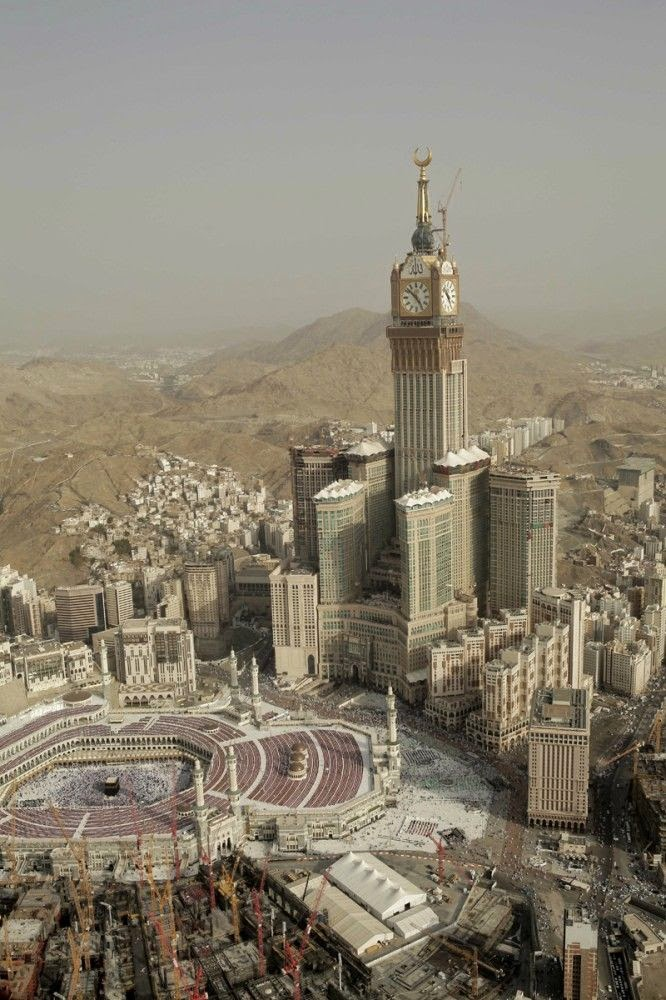 Mecca Royal Clock Tower Hotel, Saudi Arabia