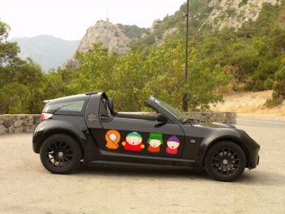 Bonito auto negro