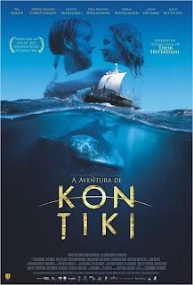 """Poster do filme """"A Aventura de Kon Tiki"""""""