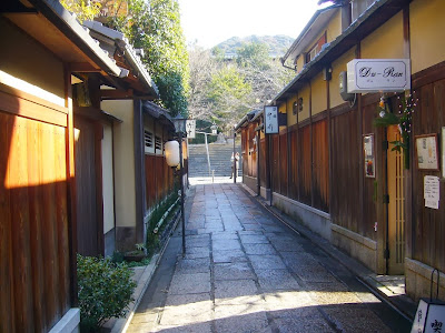 京都市東山区 雰囲気のある路地