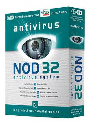 تحميل برنامج نود 32 انتي فيروس مجانا Download NOD32 Antivirus.