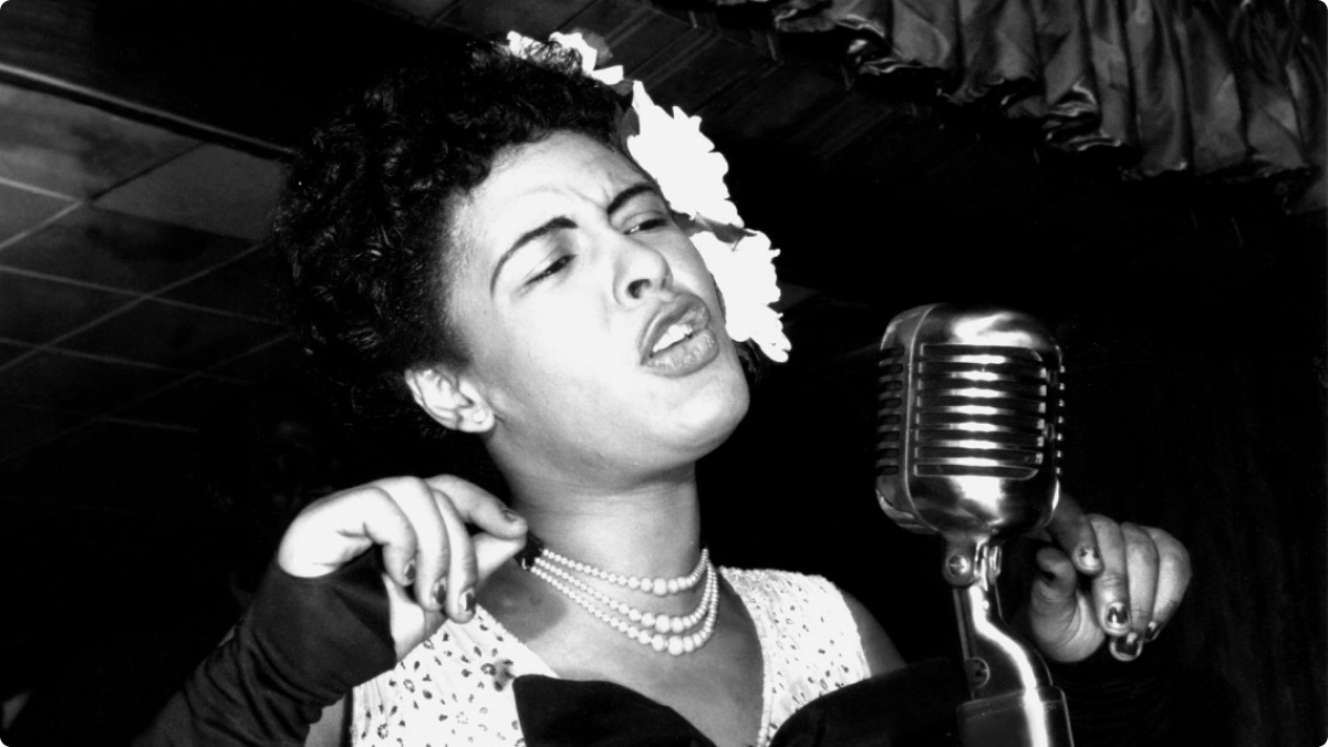 A Billie Holiday (7 april 1915 - 17 juli 1959)