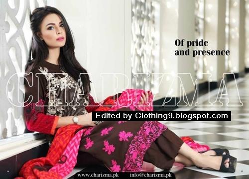 Charizma Winter Dress Collection 2015