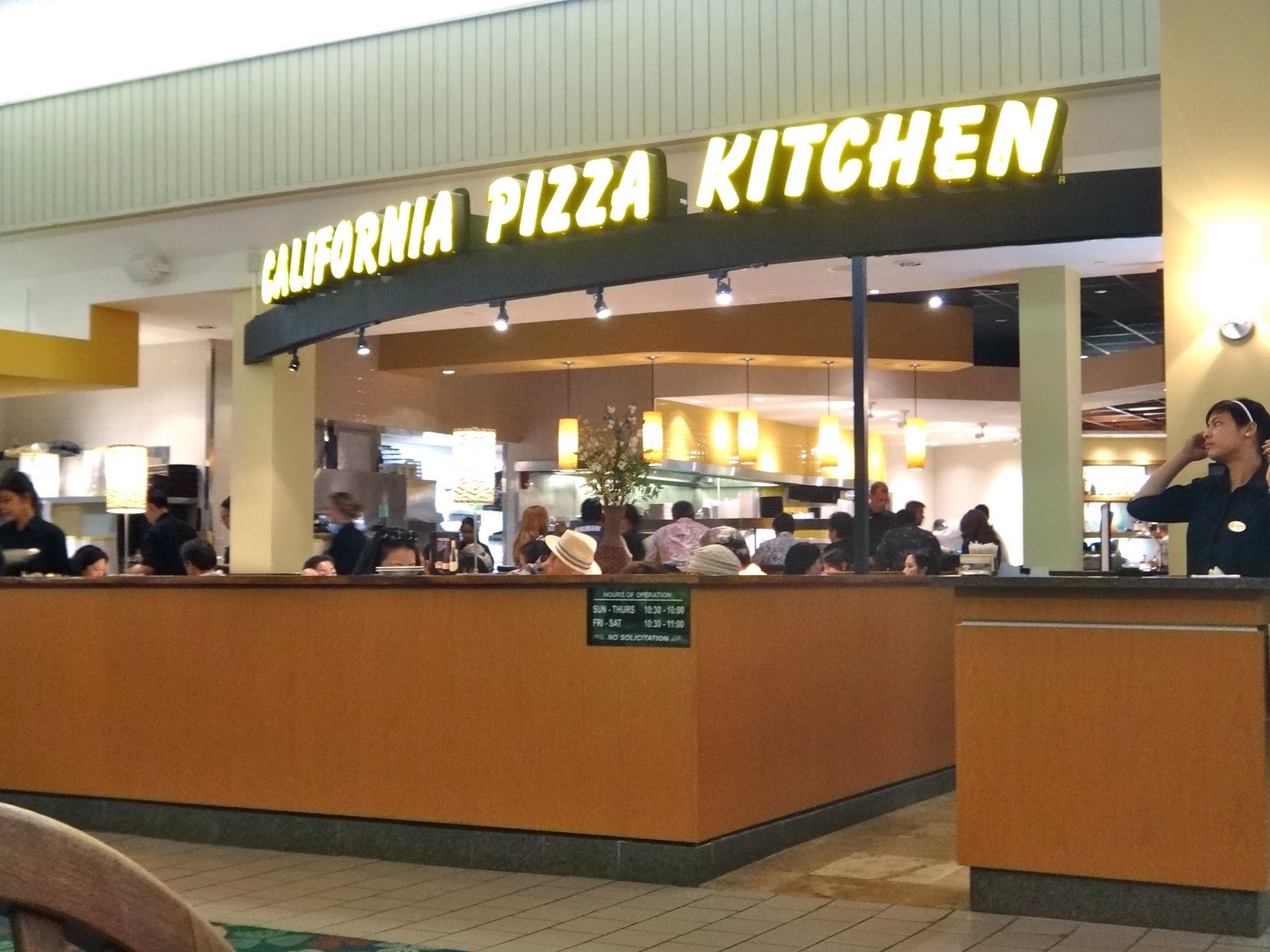 the fashionably forward foo california pizza kitchen kahala mall