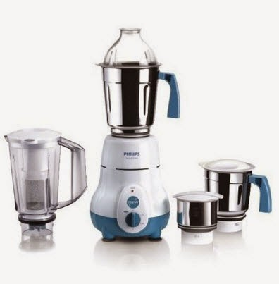 Amazon: Buy Philips HL1645 Mixer Grinder with 4 Jars at Rs. 2779 (SBI Cards) or Rs. 3088
