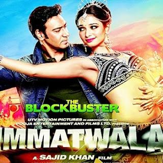 Tamannah and Ajay Devgan poster