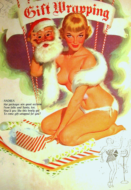 Christmas Pin Up