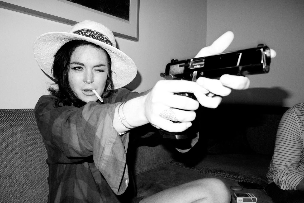 Lindsay Lohan -...