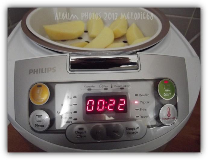 Les gourmandises de melodie68 mes essais de recettes au multicuiseur philips - Multicuiseur philips ou moulinex ...