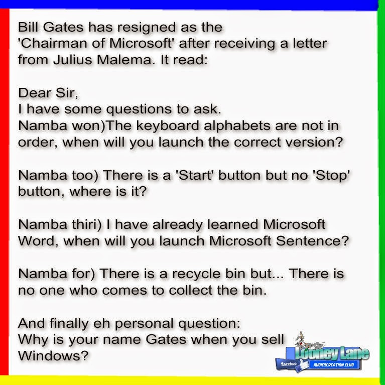Bill Gates Horoscope a Letter to Bill Gates From
