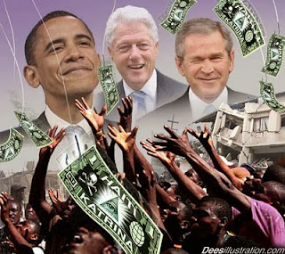 Our Last Stand | Report #1: Ryadi, General Rosier, Pureheart and a call to Congress...  NWOobama_clinton_bush_haiti_dees