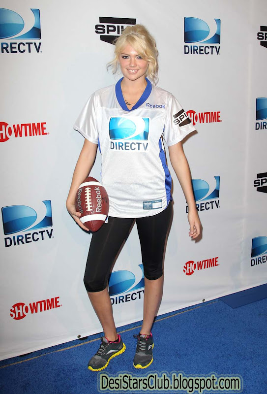 Kate Upton Photos at 6th Annual DIRECTV Celebrity Beach Bowl