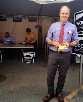 Aaron Woolf Samples the Cuisine at St. Lawrence County Fair
