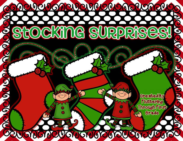 http://www.teacherspayteachers.com/Product/Stocking-Surprises-Creative-Christmas-Writing-Mini-Book-Craftvity-1003888