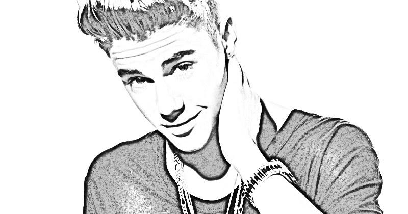 Contemporáneo Justin Bieber Para Colorear Modelo - Ideas Para ...