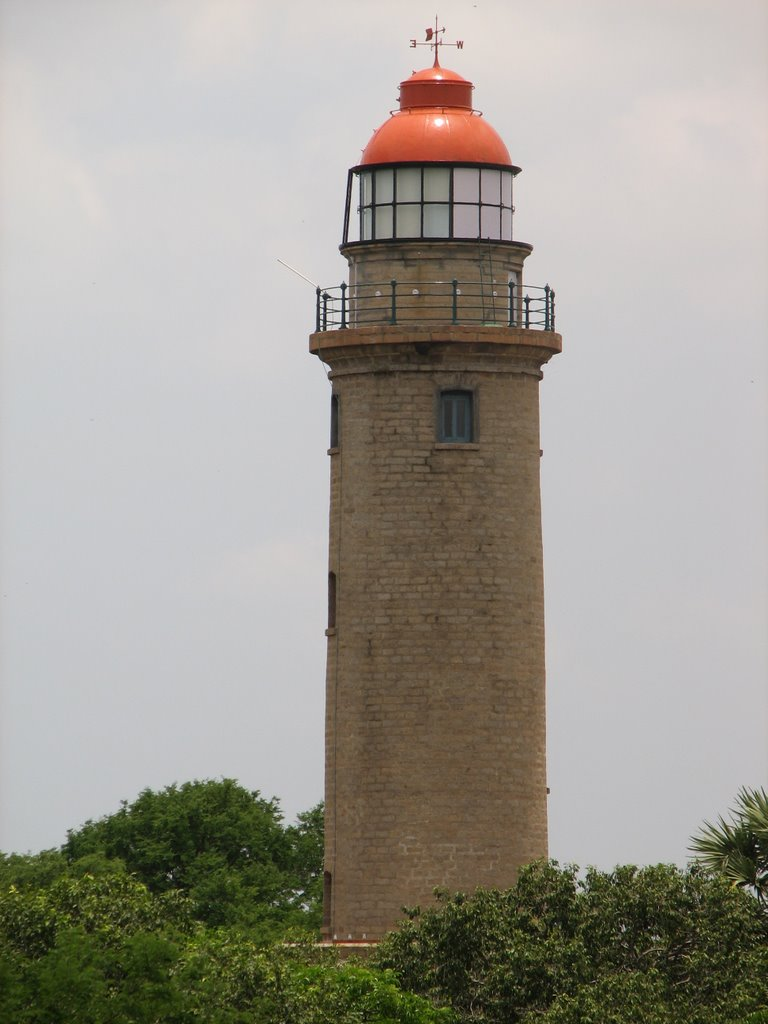 Lighthouse Natural Stone : Tamilnadu tourism mahabalipuram lighthouse